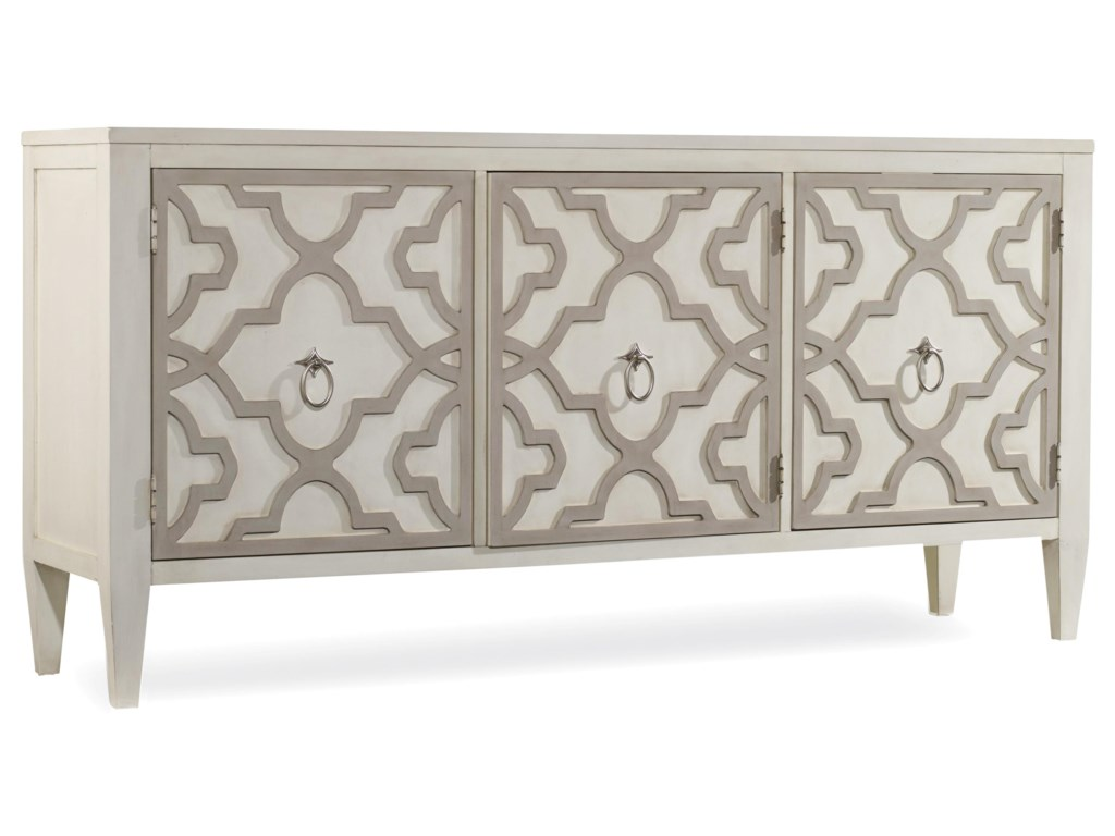 La Credenza Meaning : Hooker furniture mélange miranda credenza with graphic wood overlay