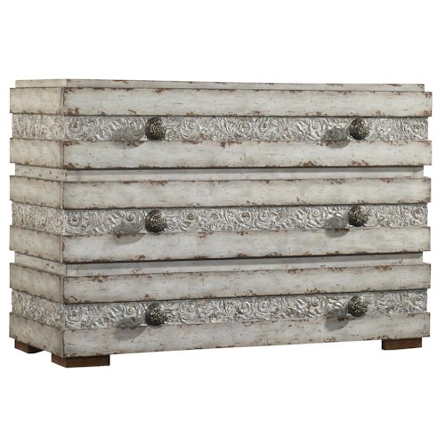 Hooker Furniture Mélange Norah Chest with 3 Drawers