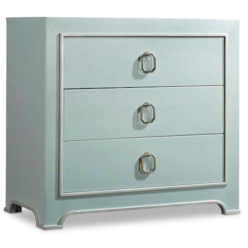 Hooker Furniture Mélange Lia 3-Drawer Chest