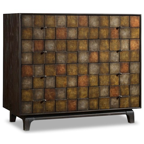 Hooker Furniture Mélange Gentry Chest with 4 Drawers