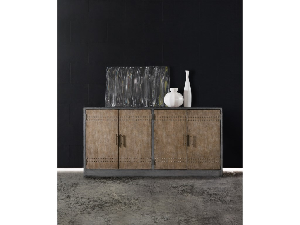Hooker Furniture MélangeCooper Four-Door Credenza