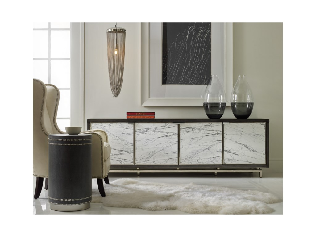 Hooker Furniture MélangeSora Four-Door Credenza
