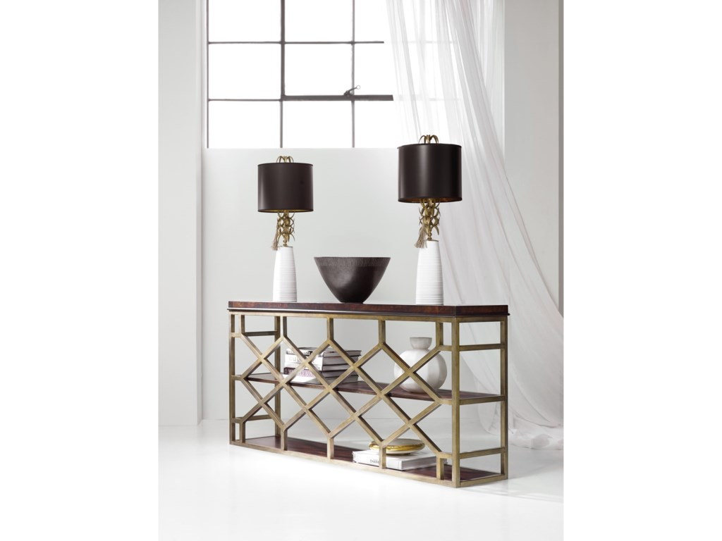 Hooker Furniture MélangeGiles Console Table