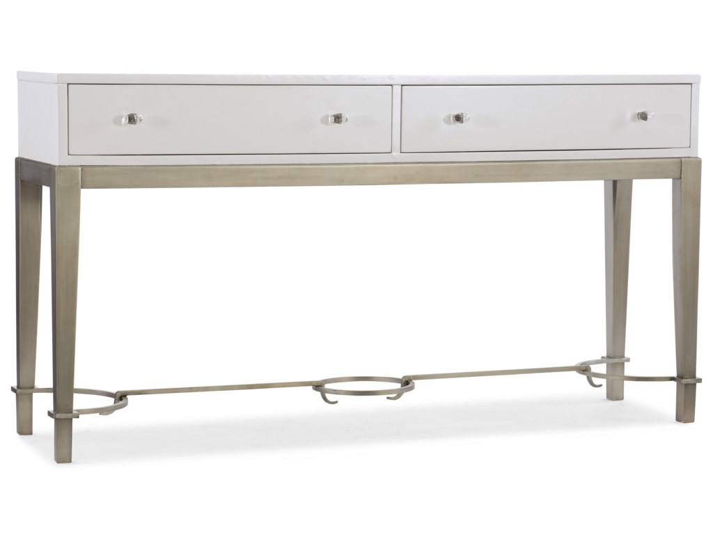 Hooker Furniture MélangeLady in White Console
