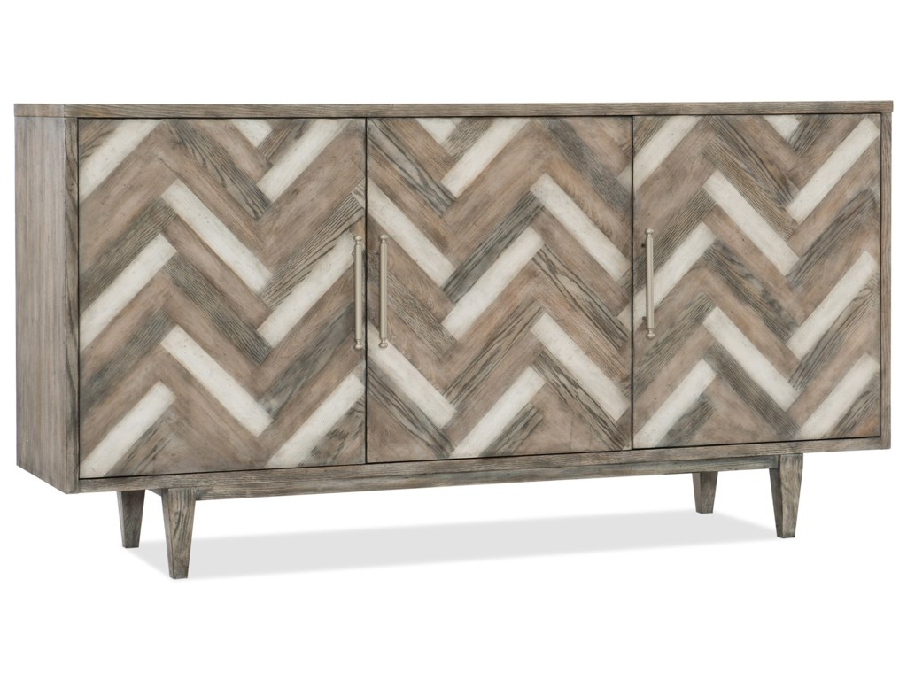 Hooker Furniture MelangeThree Door Sideboard