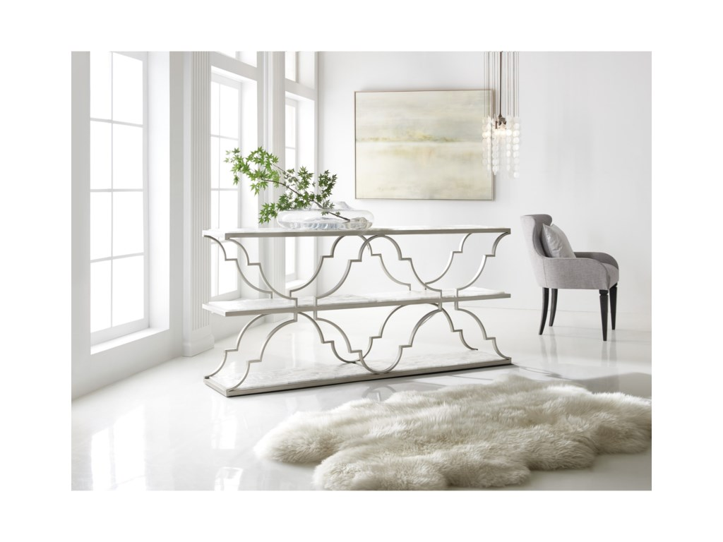 Hooker Furniture MelangeMelange Golden Gate Console