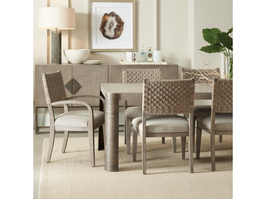 Hooker Furniture Miramar - Carmel7 Piece Table and Chair Set