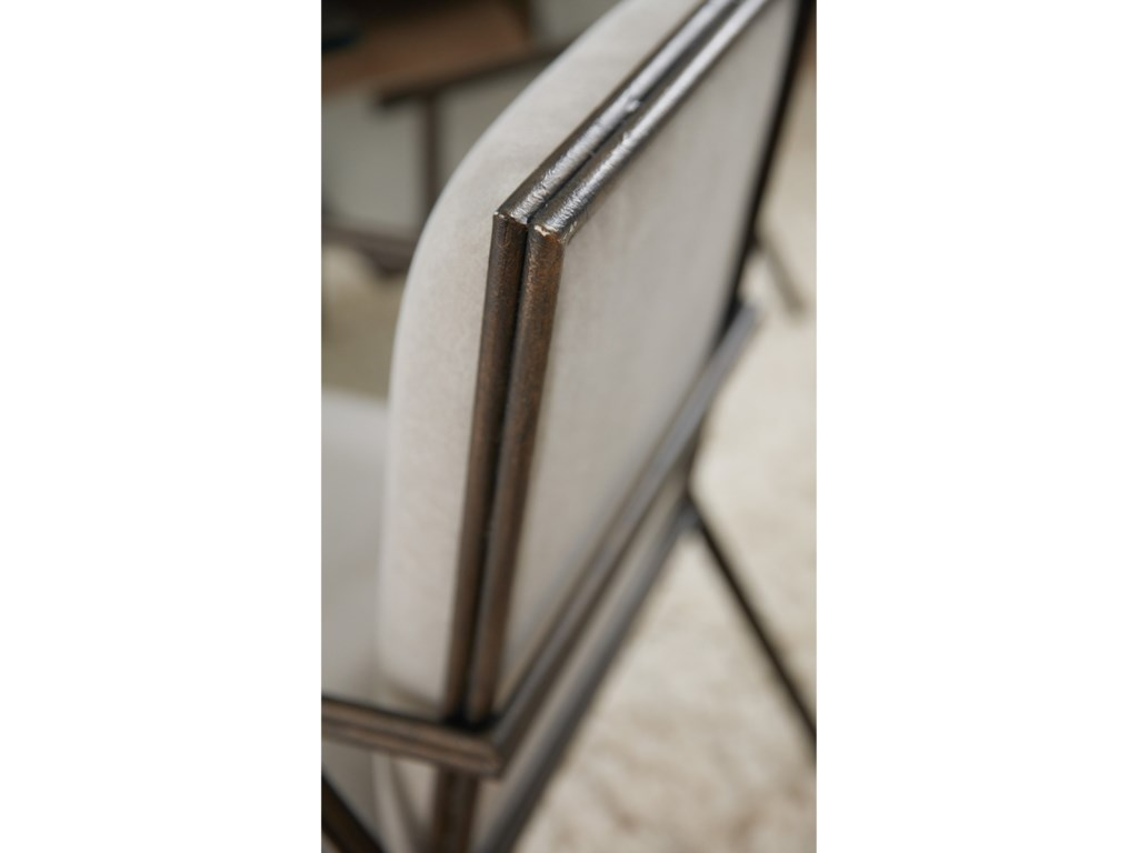 Hooker Furniture Miramar - CarmelFairview Metal Upholstered Arm Chair