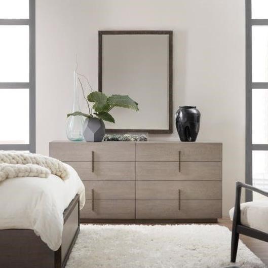 Hooker Furniture Miramar - CarmelDresser and Mirror Set