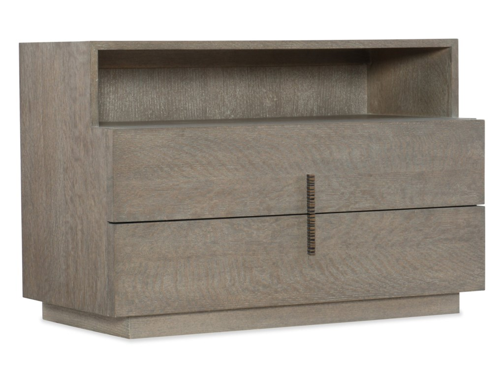 Hooker Furniture Miramar - CarmelLaguna Two Drawer Nightstan