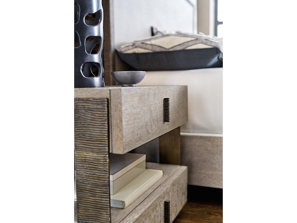 Hooker Furniture Miramar - CarmelCaspian Two Drawer Telephone Table
