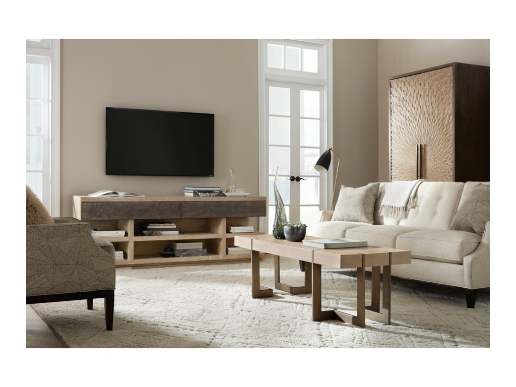 Hooker Furniture Miramar - Point ReyesSalton Entertainment Console