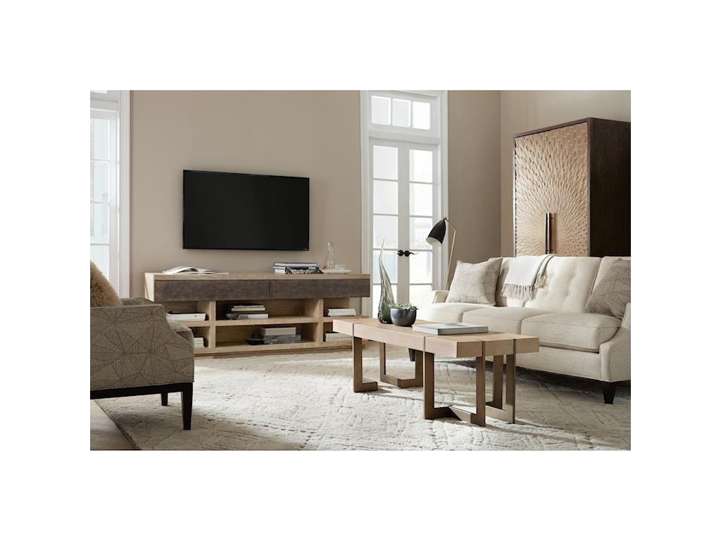 Hooker Furniture Miramar - Point ReyesMax Rectangular Cocktaitable