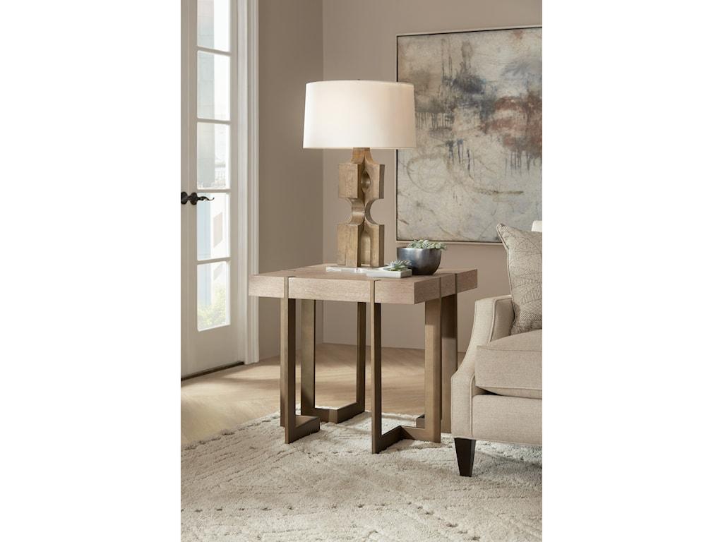 Hooker Furniture Miramar - Point ReyesMax Square End Table