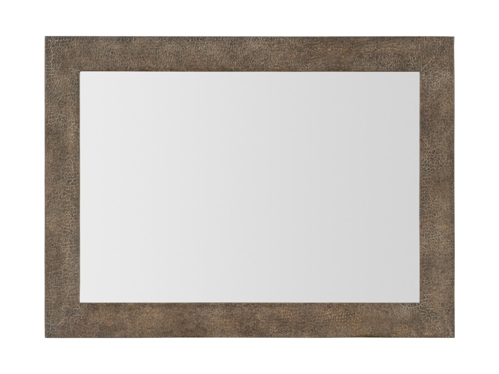 Hooker Furniture Miramar - Point ReyesCosta Mesa Leather Mirror