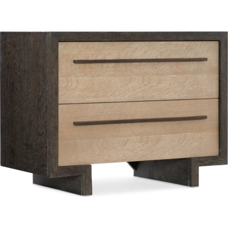 Winslow Two-Drawer Nightstand