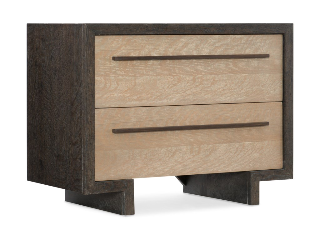 Hooker Furniture Miramar - Point ReyesWinslow Two-Drawer Nightstand