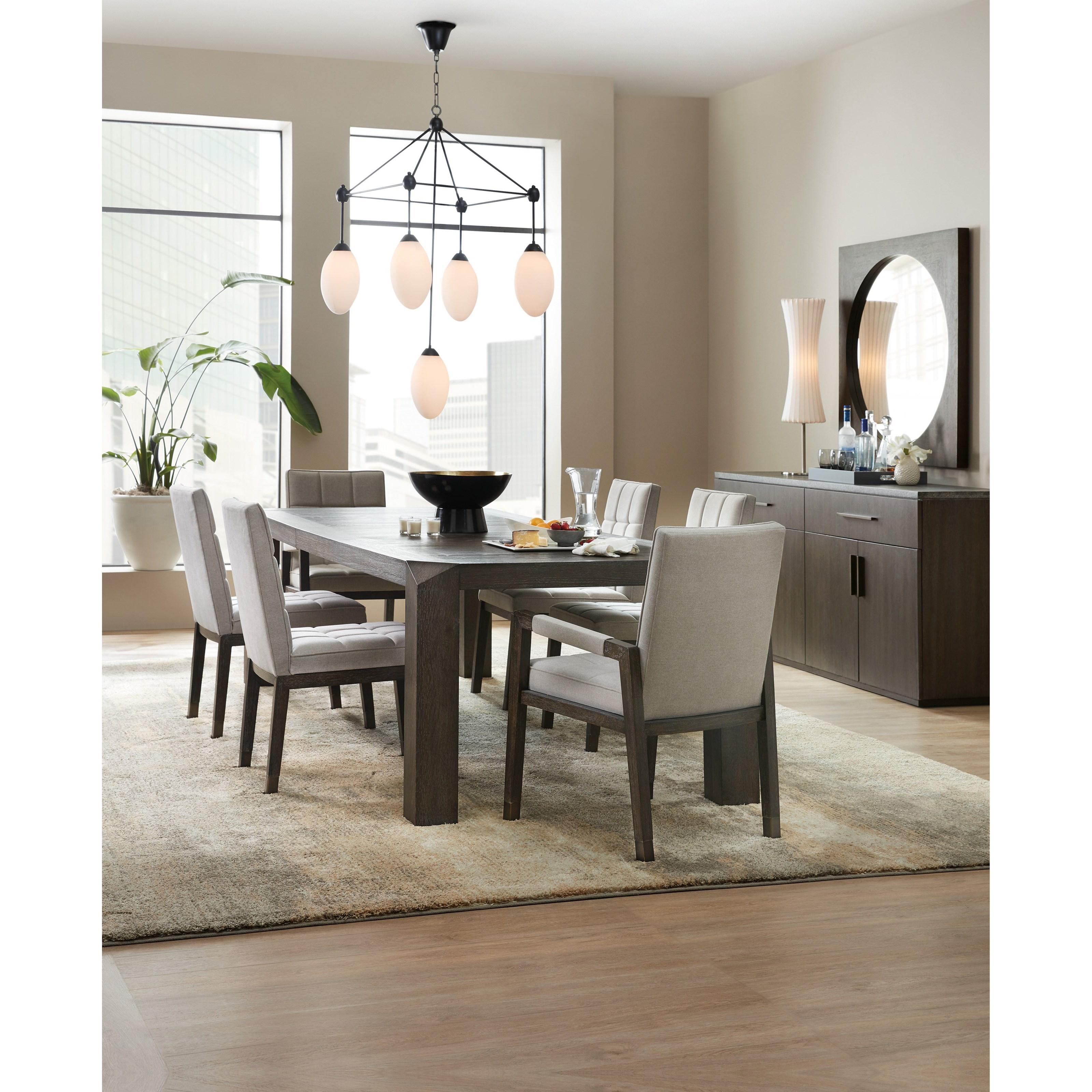 Hooker Furniture Miramar Aventura Formal Dining Room Group