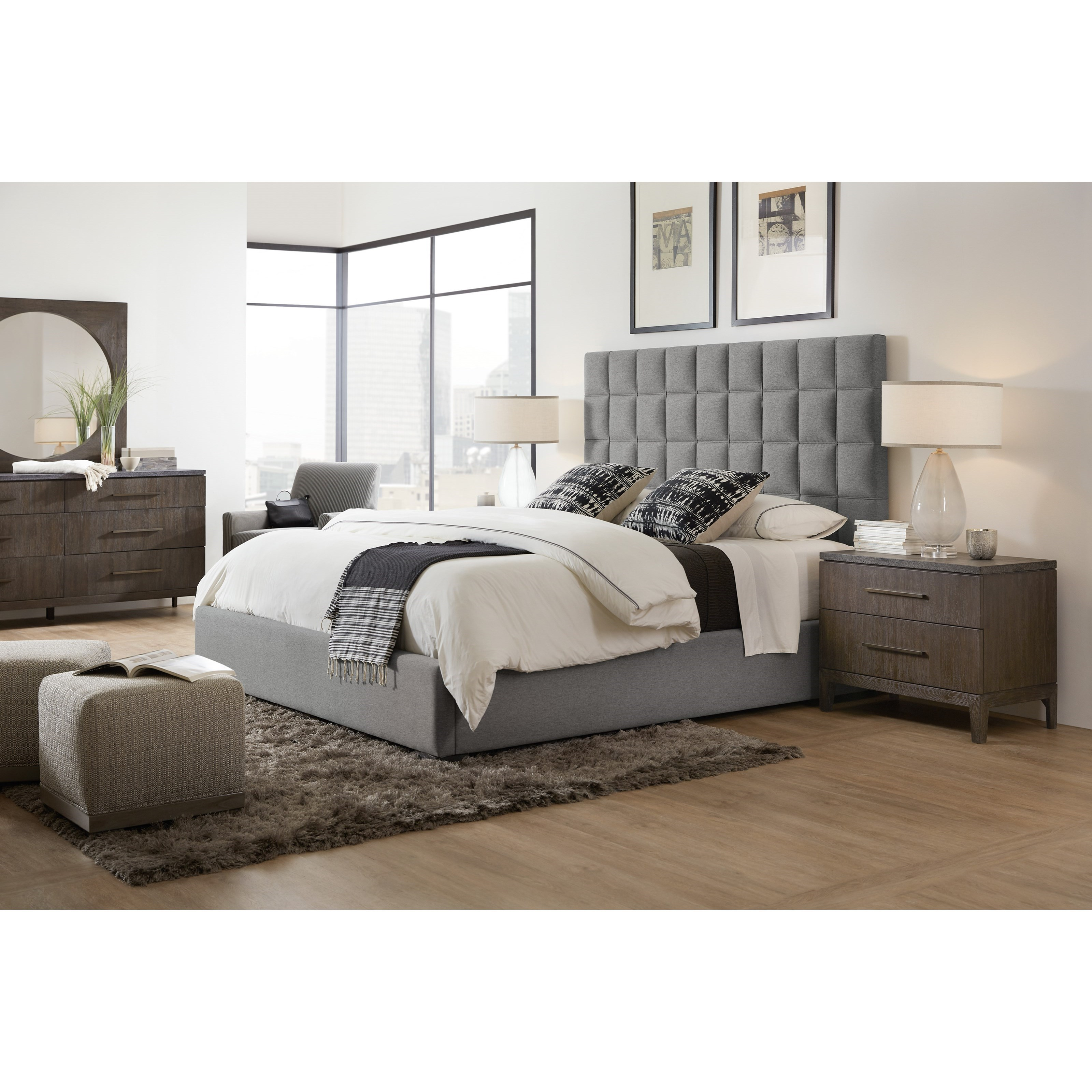 Hooker Furniture Miramar Aventura California King Bedroom Group