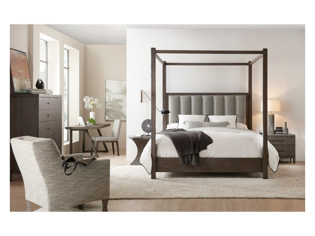 Hooker Furniture Miramar AventuraQueen Bedroom Group