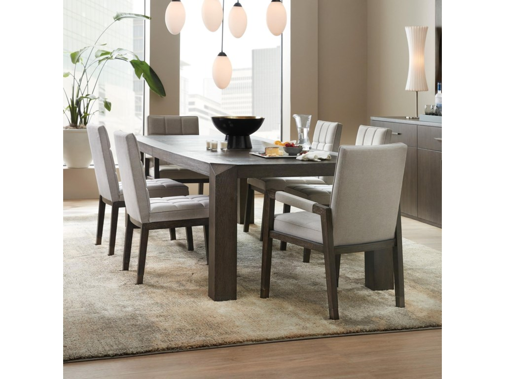 Hooker Furniture Miramar Aventura7 Piece Table and Chair Set