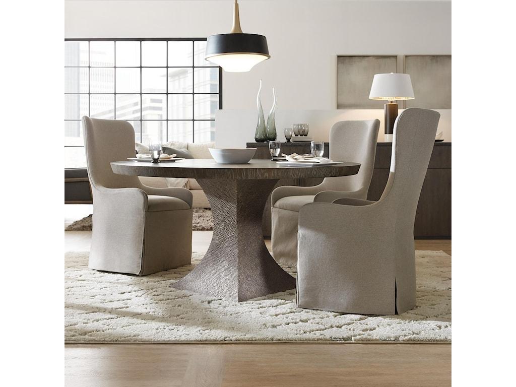Hooker Furniture Miramar Aventura4 Piece Table and Chair Set