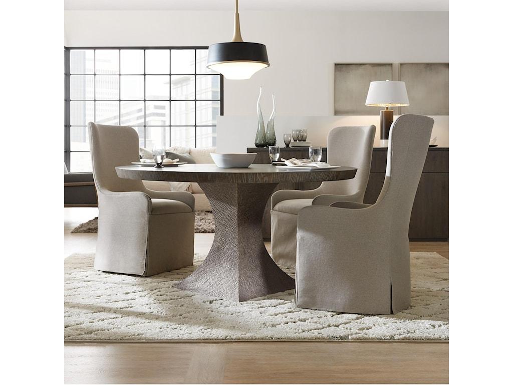 Hooker Furniture Miramar AventuraGreco 60in Round Dining Table