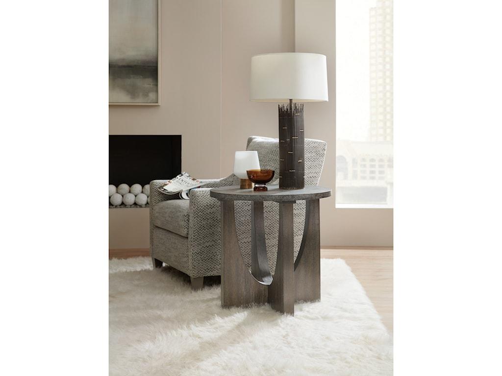 Hooker Furniture Miramar AventuraTomasso Round End Table