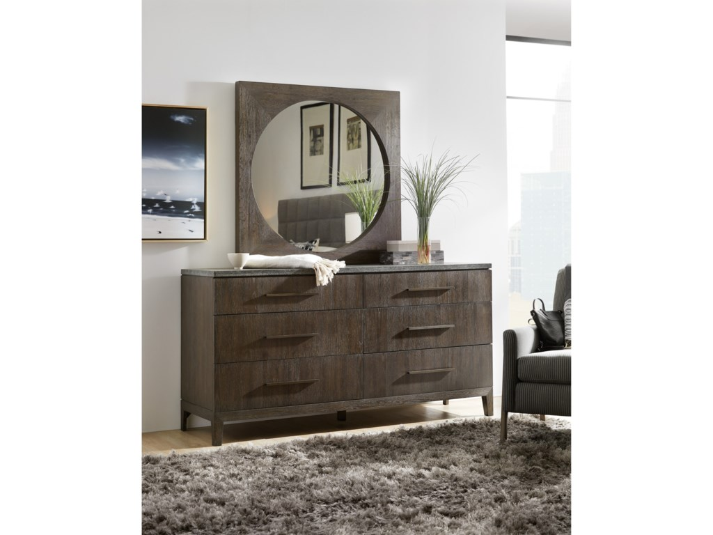Hooker Furniture Miramar AventuraRaphael Six-Drawer Dresser