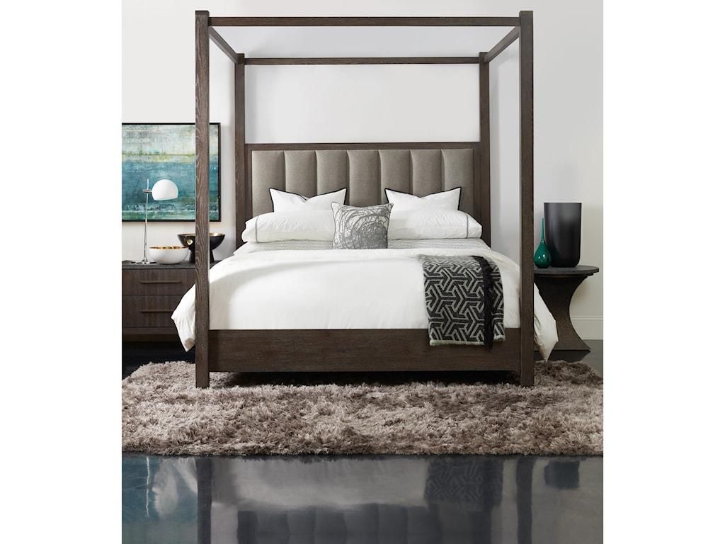 Hooker Furniture Miramar AventuraJackson Queen Poster Bed