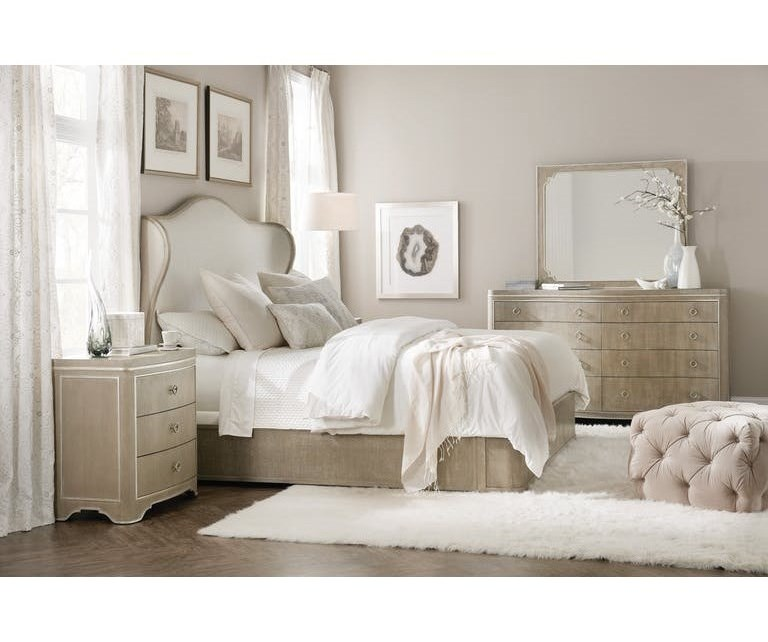 Hooker Furniture Modern RomanceKing Bedroom Group