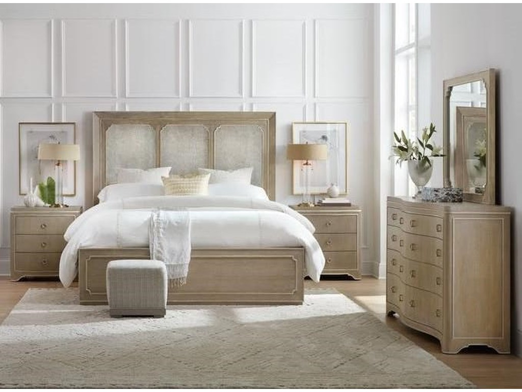 Hooker Furniture Modern RomanceQueen Bedroom Group