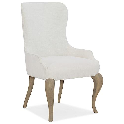 Hooker Furniture Modern Romance Transitional Upholstered Arm Chair