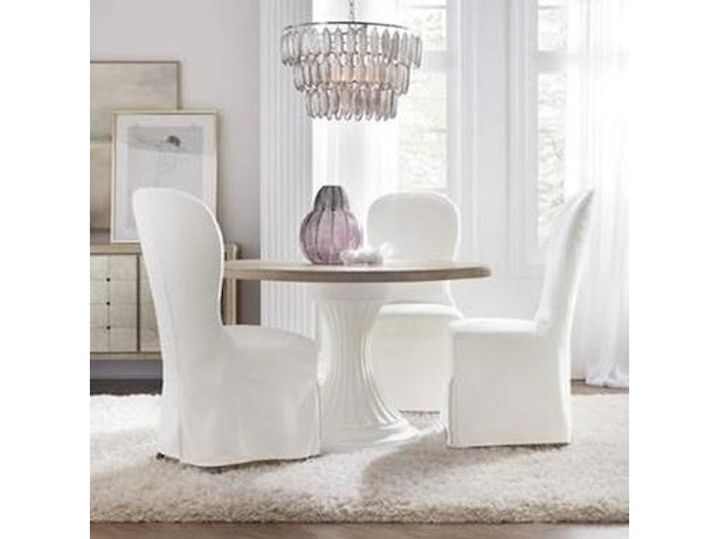 Hooker Furniture Modern RomanceFive Piece Chair & Table Set