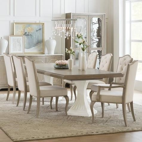 Incroyable Modern Romance Transitional Nine Piece Dining Set By Hooker Furniture