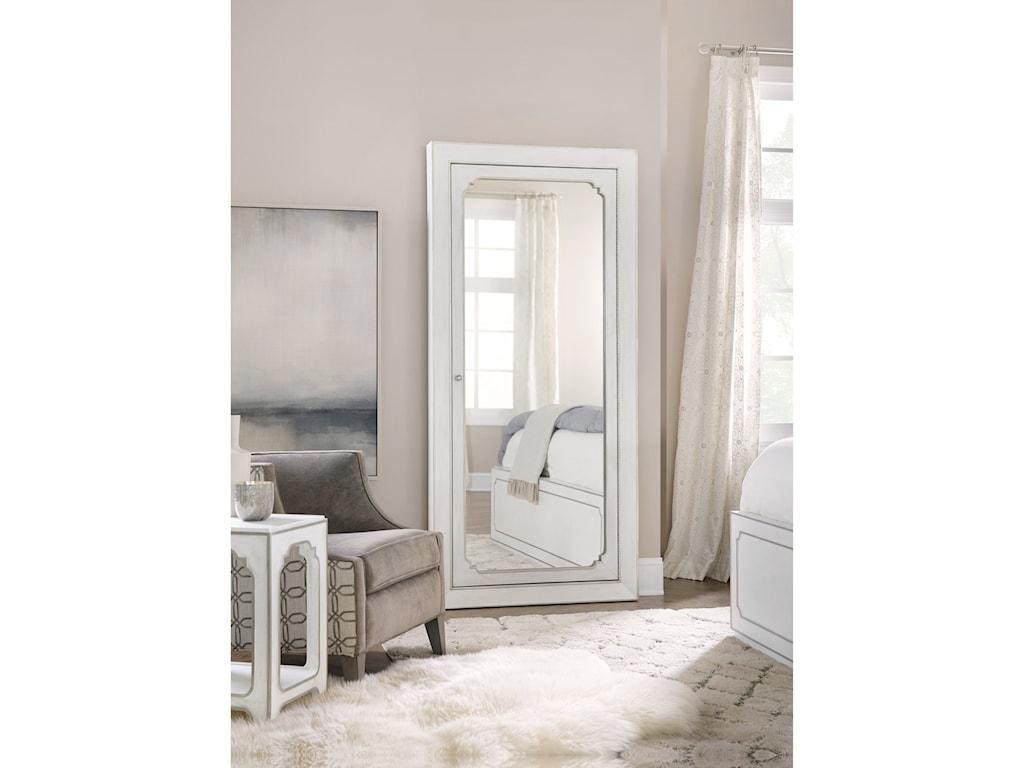 Hooker Furniture Modern RomanceFloor Mirror with Jewelry Storage