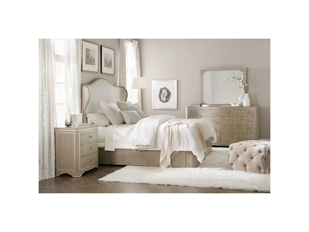 Hooker Furniture Modern RomanceThree-Drawer Nightstand