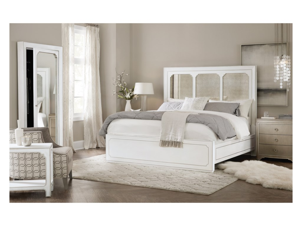 Hooker Furniture Modern RomanceKing Panel Bed