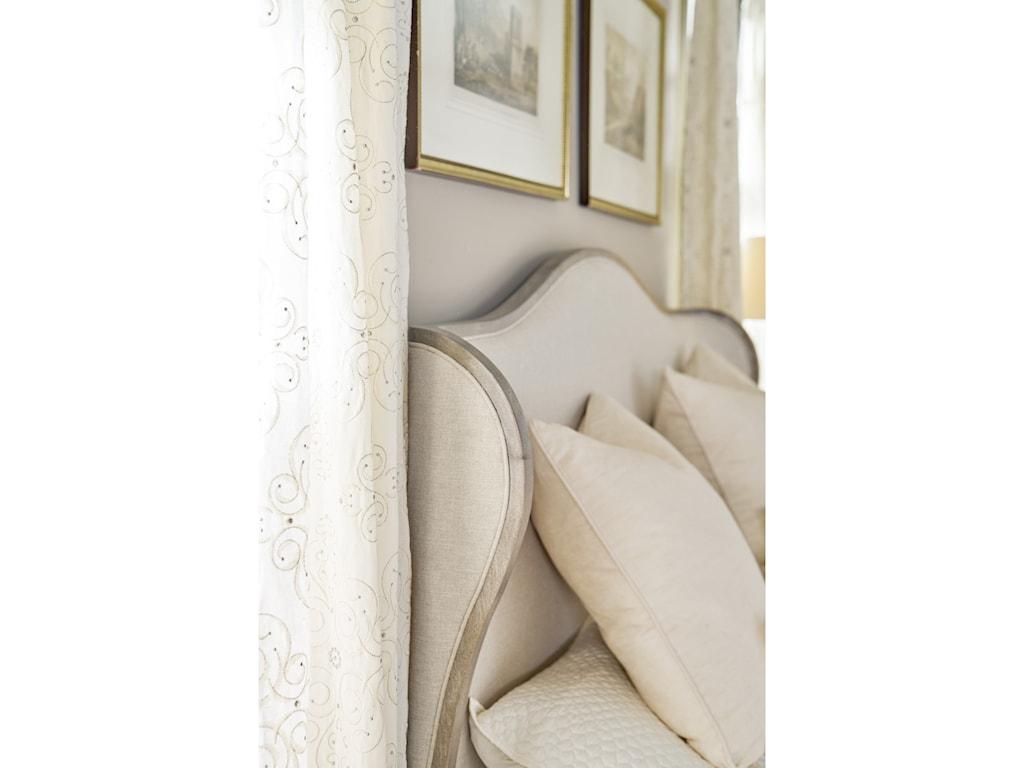 Hooker Furniture Modern RomanceCalifornia King Upholstered Shelter Bed