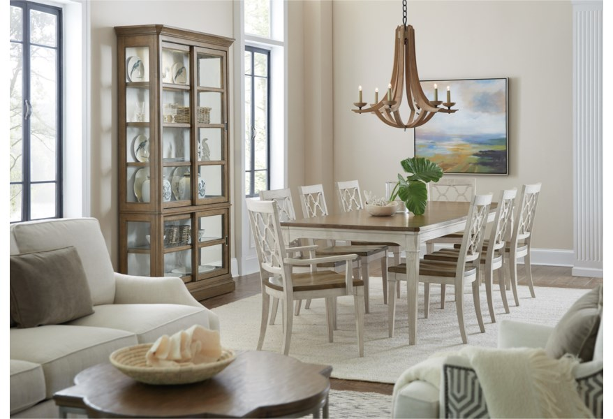 Hooker Furniture Montebello 6101 Dining Room Group 2 Formal Dining Room Group Baer S Furniture Formal Dining Room Groups