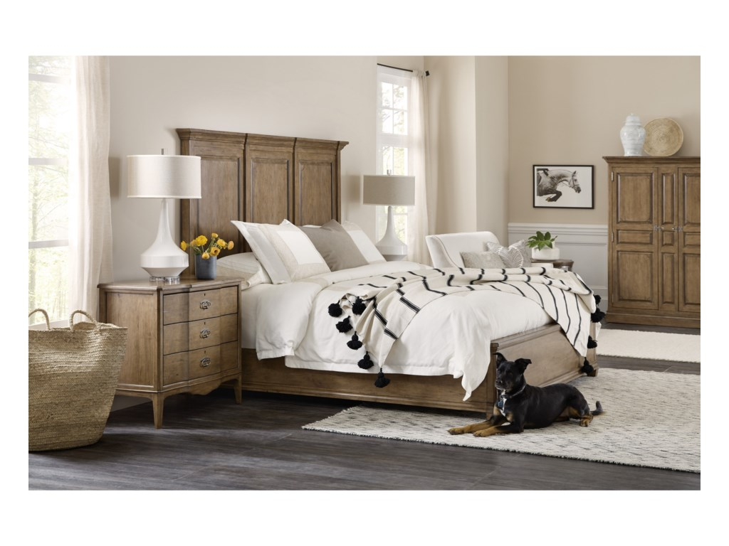 Hooker Furniture MontebelloKing Wood Mansion Bed