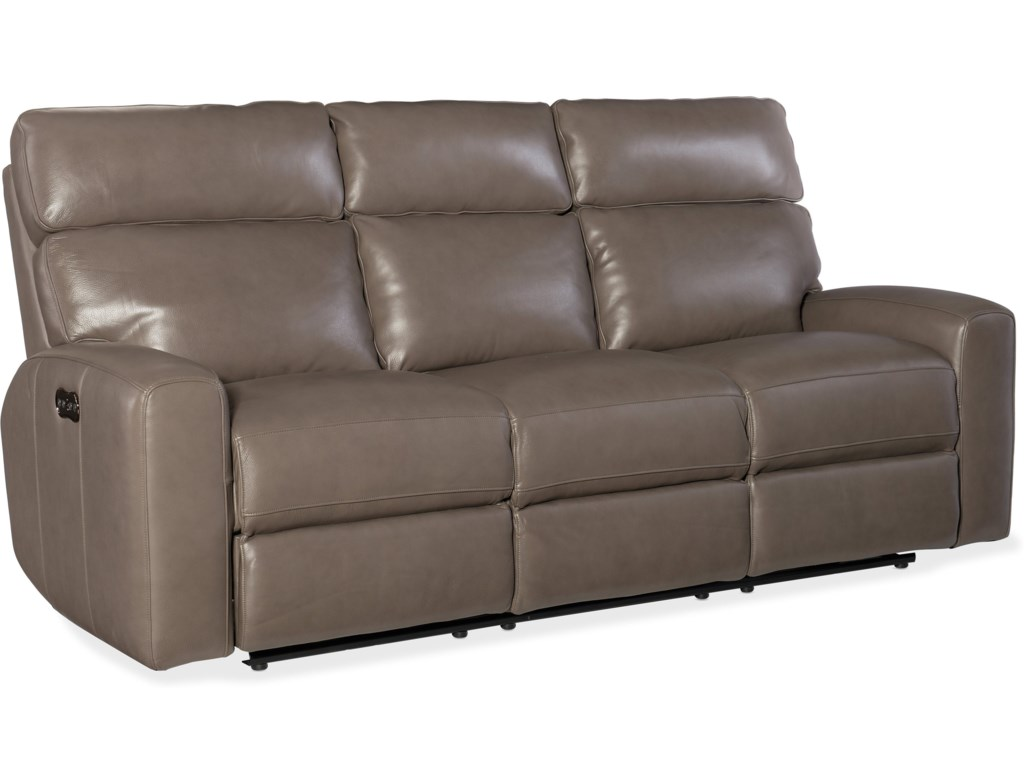 Hooker Furniture MowryPower Motion Sofa w/Pwr Hdrest