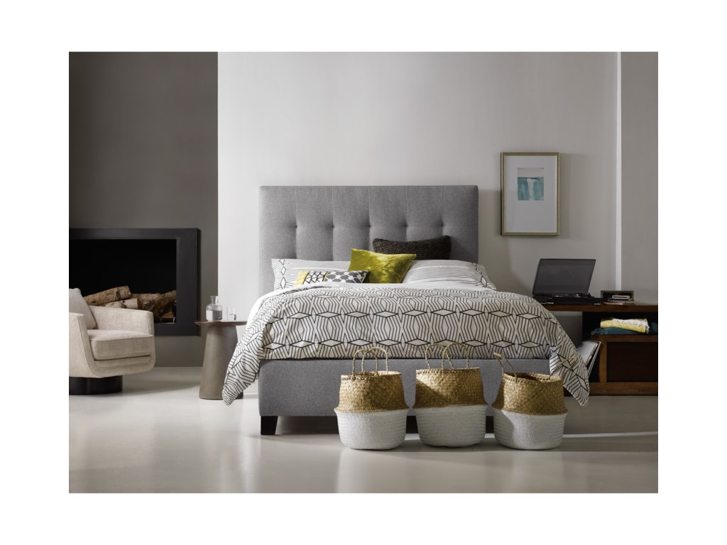 Hooker Furniture Nest TheoryMartin 52in Queen Upholstered Bed