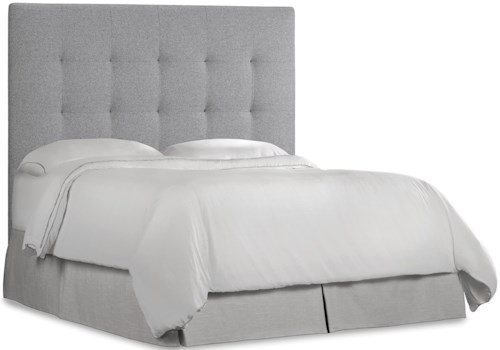 Hooker Furniture Nest Theory Martin 62in King Upholstered Headboard