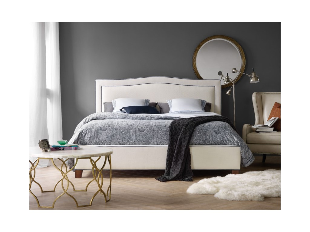 Hooker Furniture Nest TheoryWillow 64in Queen Upholstered Bed
