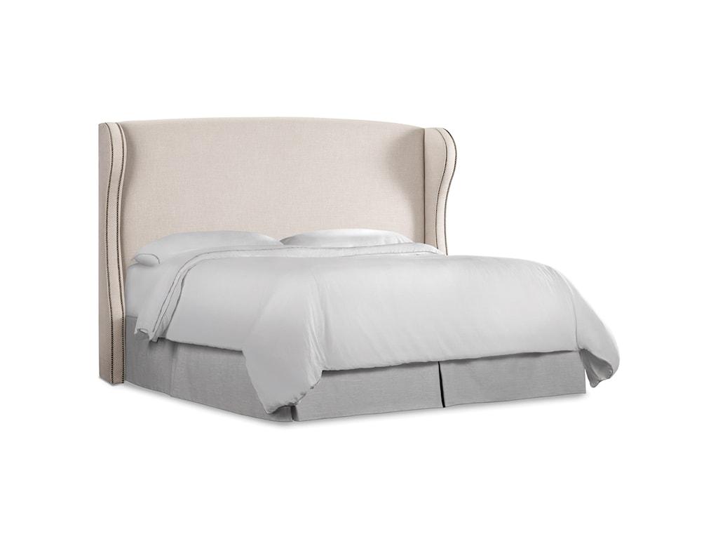 Hooker Furniture Nest TheoryHeron Queen Upholstered Headboard