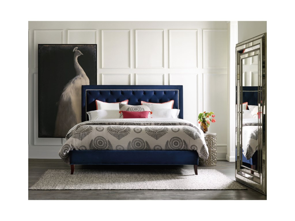 Hooker Furniture Nest TheoryJay 52in Queen Upholstered Bed