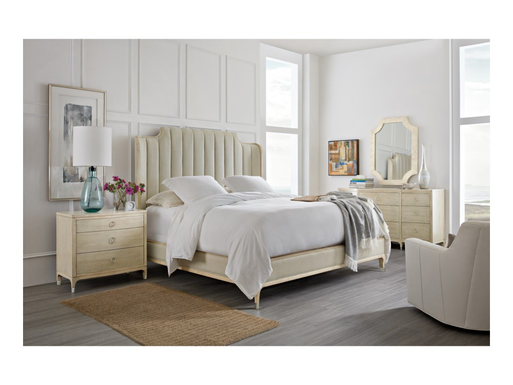 Hooker Furniture NewportMirada King Upholstered Bed