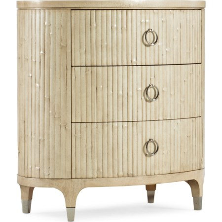 Coastal Trail Oval Nightstand