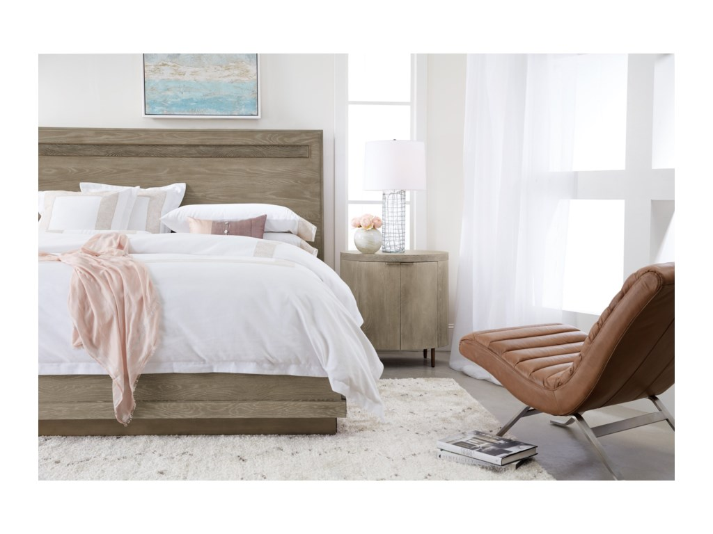Hooker Furniture PacificaQueen Panel Bed